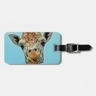 giraffe funny tags for luggage