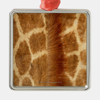 Giraffe Fur Christmas Ornament