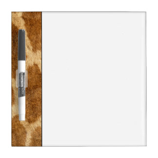 Giraffe Fur Dry Erase Board