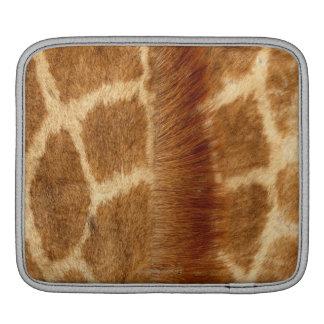 Giraffe Fur iPad Sleeve