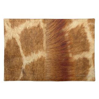 Giraffe Fur Placemat