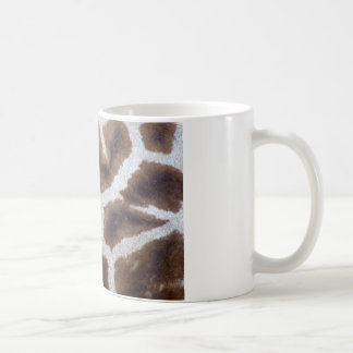 Giraffe fur skin coffee mug