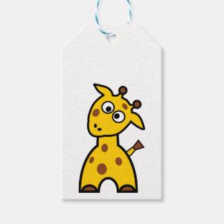 Giraffe Gift Tag