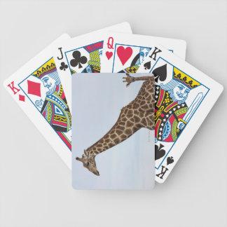 Giraffe (Giraffa camelopardalis), Chobe National P Bicycle Playing Cards
