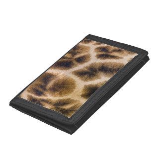 Giraffe (Giraffa Camelopardalis) Skin Tri-fold Wallet