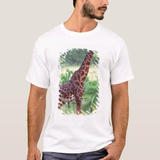 Giraffe, Giraffa camelopardalis, Tanzania Africa 2 T-Shirt