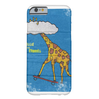 Giraffe - Head in the clouds - iphone - Board Anim Barely There iPhone 6 Case