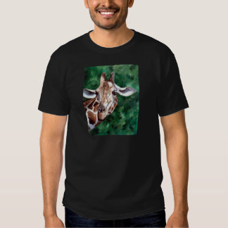 Giraffe I'm Up Here  Mens Tshirt