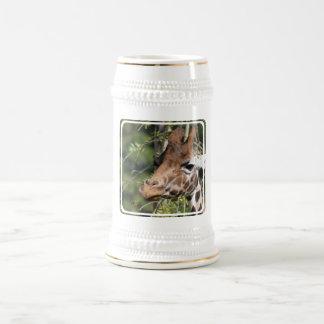 Giraffe Images Beer Stein Coffee Mug