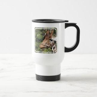 Giraffe Images Plastic Travel Mug