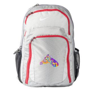 Giraffe in Colors Backpack