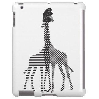 Giraffe in Love iPad, Barely There iPad Case