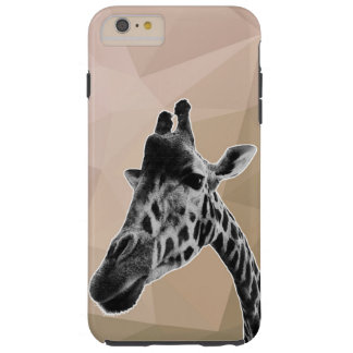 Giraffe iPhone 6/6+ case beige