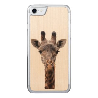 Giraffe iPhone 6 Carved iPhone 8/7 Case