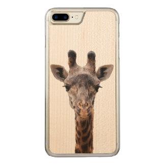 Giraffe Iphone 6 Plus Carved iPhone 8 Plus/7 Plus Case