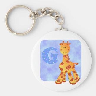 Giraffe Keychains