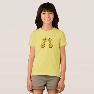 giraffe kid shirt