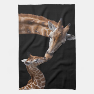 Giraffe Kisses Kitchen Towel
