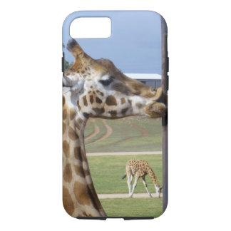 Giraffe_Kisses,_Tough iPhone 7 Case