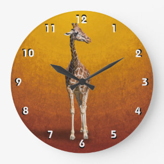 GIRAFFE LARGE CLOCK