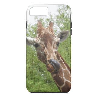 Giraffe Licking Its Nose iPhone 8 Plus/7 Plus Case