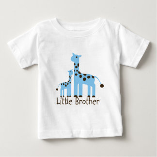 Giraffe Little Brother Baby T-Shirt