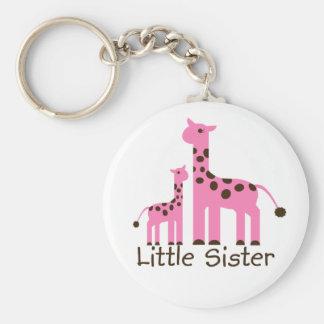 Giraffe Little Sister Keychain