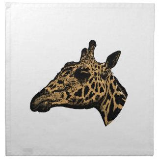 Giraffe Logo Napkin