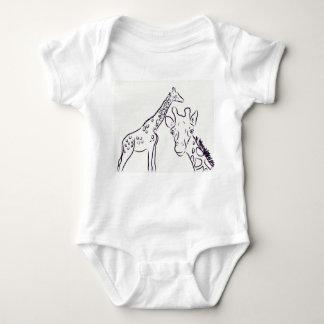 Giraffe Love Baby Bodysuit