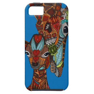 giraffe love blue case for the iPhone 5