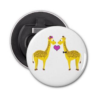 Giraffe Love Bottle Opener