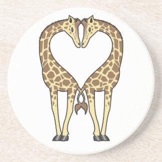 Giraffe Love Coaster