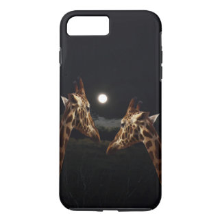 Giraffe Love In The Moonlight, iPhone 8 Plus/7 Plus Case