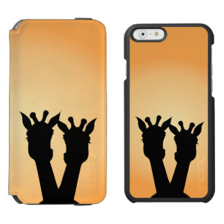 Giraffe Love Incipio Watson™ iPhone 6 Wallet Case