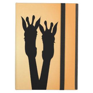 Giraffe Love iPad Air Cover