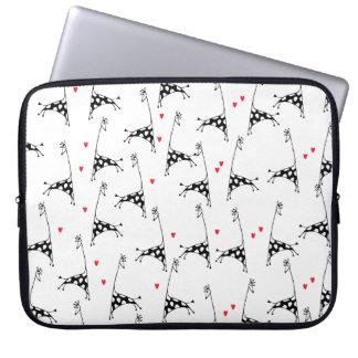 """Giraffe Lover - Laptop Sleeve 15"""""""