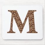 Giraffe M Mouse Mat