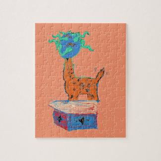 Giraffe Magic Jigsaw Puzzle