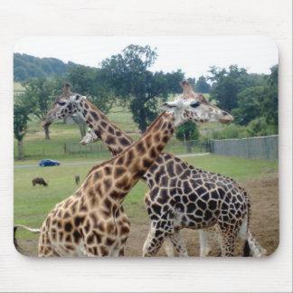 giraffe mat mouse mat