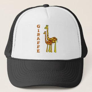 Giraffe Mom and Baby Trucker Hat