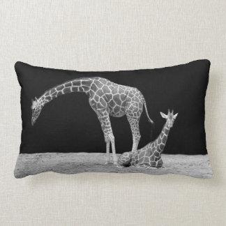Giraffe Monochrome Cushion -KawaiiDayZooCafe