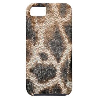 Giraffe mosaic iPhone 5 cases