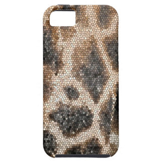 Giraffe mosaic iPhone 5 cover