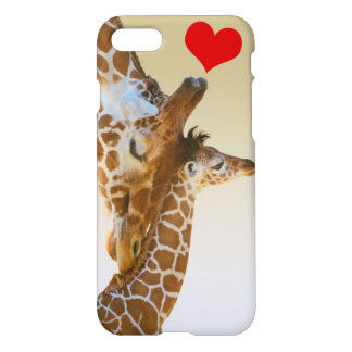 Giraffe Mother & Baby iPhone 8/7 Case