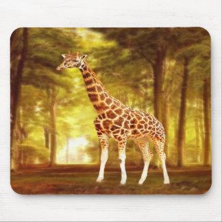 Giraffe Mousepads