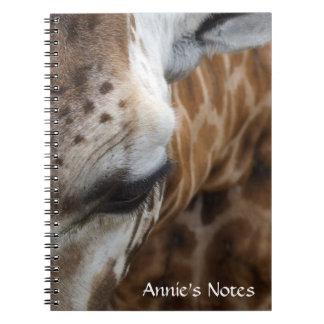 Giraffe Notebook