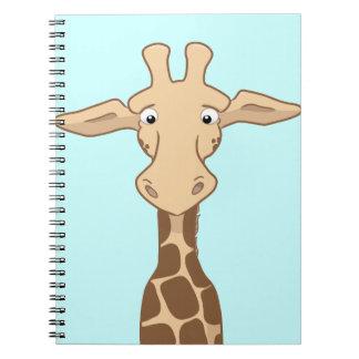 Giraffe Notepad Spiral Notebook