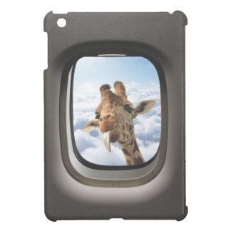 Giraffe On Board iPad Mini Cases