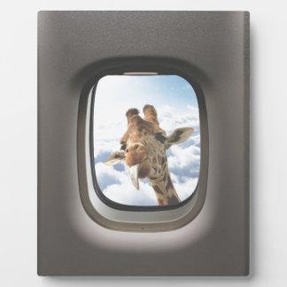 Giraffe On Board Plaque