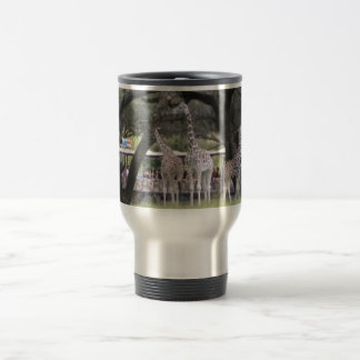 Giraffe on Safari Travel Mug